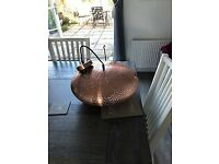 Copper Moroccan style Dining light - brand new, never been used