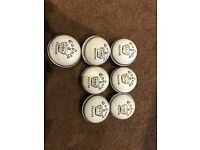7 brand new white readers youth cricket balls