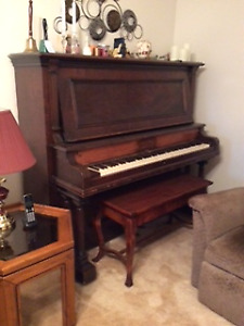 Upright Piano and Bench for Sale!