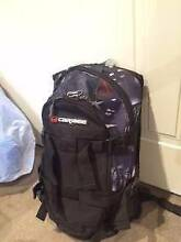 Caribee Stratos XL Compact Backpack - Black Melbourne CBD Melbourne City Preview