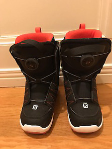 Junior snowboarding boots