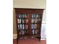 'Dutch Marquetry' display cabinet dating from 1800/1820. A beautiful piece. PRICE REDUCED TO SELL