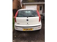 Fiat Punto 1.2. 8v ; fair condition; MOT June 2018; 2 previous owners; been a reliable car; 2 keys