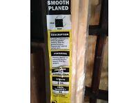 Wood bundle, incls; interior pack and rough sawn slats