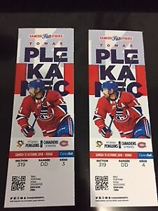 Penguins @ Habs - Sat Oct 13 - Centre Ice Whites