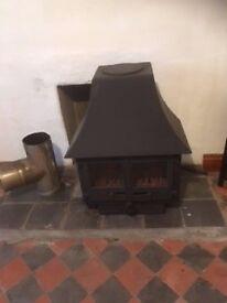 Warm World Cast Iron Multifuel Stove