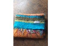 Mater Materiae Italian Fringed MohairScarf