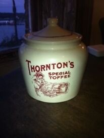 Thortons Special Toffee Jar