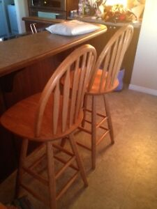 Tall Bar Stools (2)