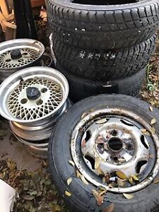 Sets of Tires and Rims