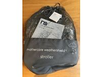 Mothercare Weathershield rain cover NEW and unused
