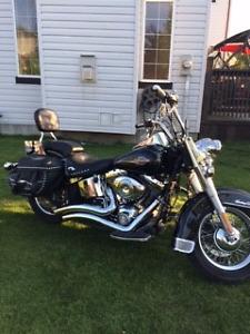 Harley Davidson-Heritage Softail