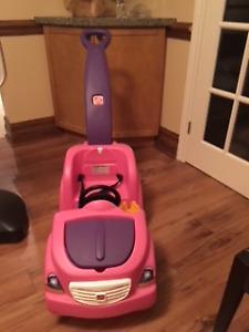 Step 2 Pink wagon