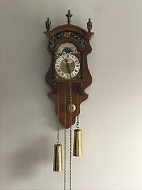 Beautiful antique/vintage original Dutch Sallander clock