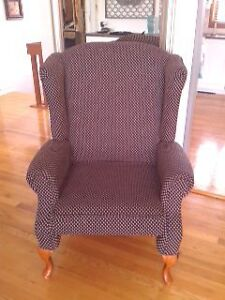 Fauteuil - chaise bergere