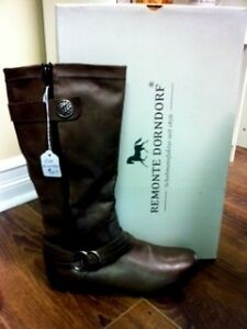 Leather Boots New In Box