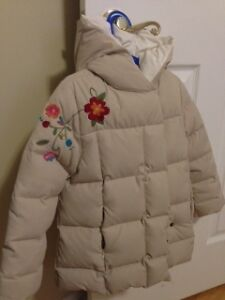 Zara down coat (long) size 4 and Free GEOX boots