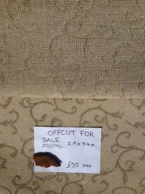Carpet offcut - reduced