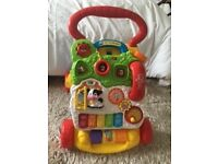 V Tech First Steps Baby Walker, excellent condition