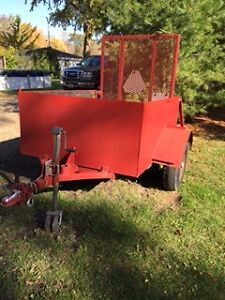 Heavy Duty Utility Trailer Windsor Region Ontario image 1