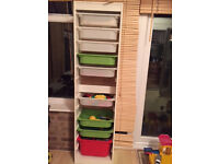 IKEA trofast tall storage unit