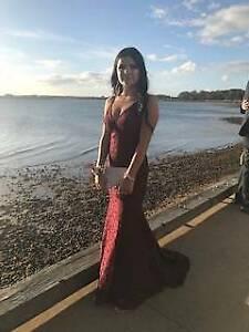 2776240bdab Maroon Mythical Studio Minc Dress