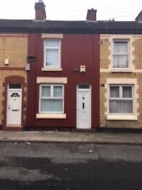 House for rent £475 pcm 2 bedroom terrace house in good condition New GCH, shower & fitted kitchen