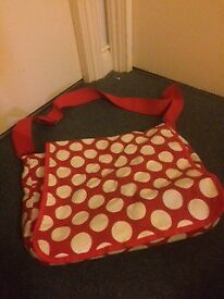 Baby nappy changing bag Hackney Islington collection