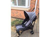 Baby Atlas Stroller - Grey and Black