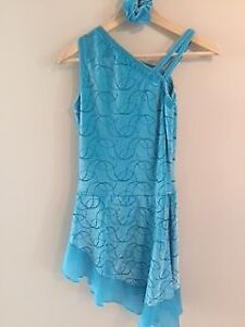Turquoise Figure Skating Dress