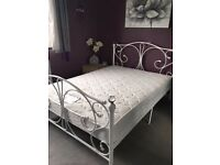 Double bedstead with mattress