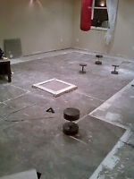 Flooring and painting