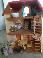 Doll House - Callico Critters Oakwood Home