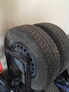WINTER TIRES REDUCED: Michelin X-Ice Tires & Rims