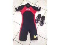 Child's Wetsuit & Shoes