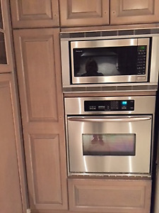 Panasonic Microwave and Trim Kit