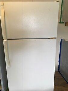 White Kenmore Refrigerator