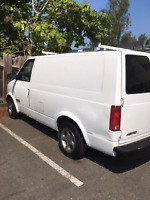 Reliable janitorial service van