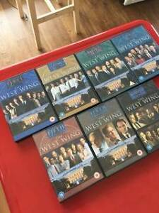 Season 1-7 of the west wing DVD box set Summer Hill Ashfield Area Preview