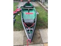 coleman outfiter 15 open top canoe