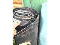 rolls of plastic sheet