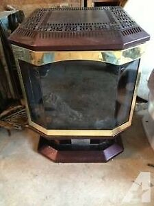 oil fireplace Dragon excellent condition