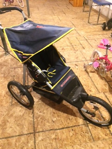 3 different baby & running strollers