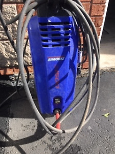 Simoniz Electric Pressure Washer 1500 PSI