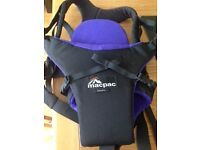Baby Carrier front pack - Macpac