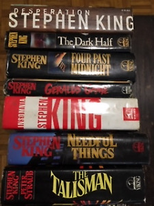 STEPHEN KING PAPERBACKS and HARDCOVER BOOKS