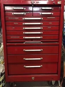 12 Drawer Beach Roller cabinet