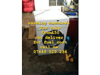 Washing Machines for sale ( ring me on 07449 529 234 )