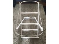 More about Baby ® eco-RX rocker WHITE pine rocking/folding moses basket stand