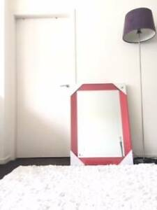$49 BRAND NEW Large Mirror Red St Leonards Willoughby Area Preview